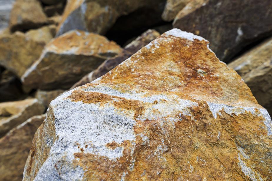 Minerai du gisement de graphite de Nouveau Monde Graphite
