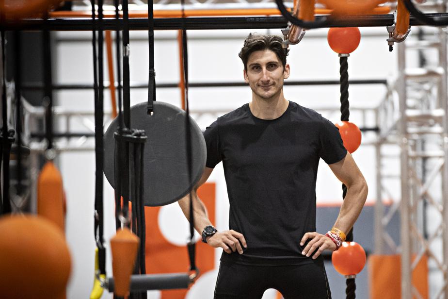 Samuel Hébert, entraîneur-chef au Maestrem Ninja Gym