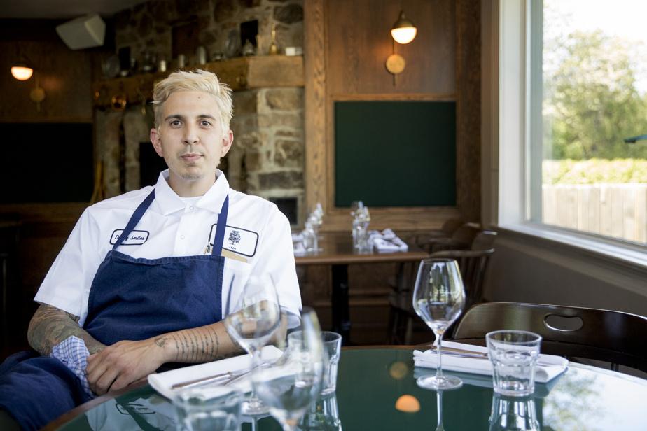 Le chef Danny Smiles est aux commandes de la cuisine de l'auberge Willow Inn.