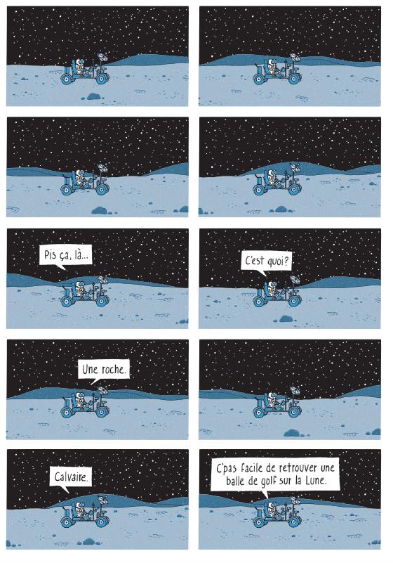 Extrait de La conquête du cosmos