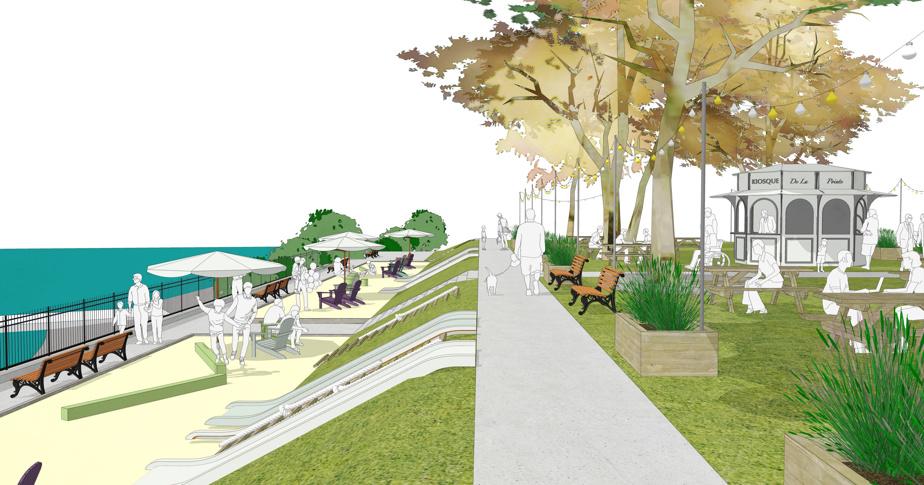 À la plage urbaine du Village au Pied-du-Courant s'ajoute une seconde, cette fois à Pointe-aux-Trembles.