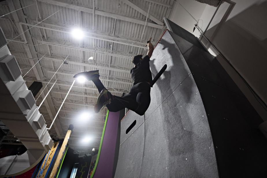 Il existe un parallèle entre les athlètes d'escalade et ceux de Ninja.