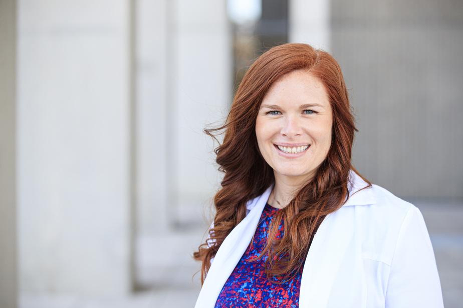 Frédérique Lamoureux-Pelletier, cheffe adjointe en prévention et contrôle des infections à hôpital de la Cité-de-la-Santé, à Laval