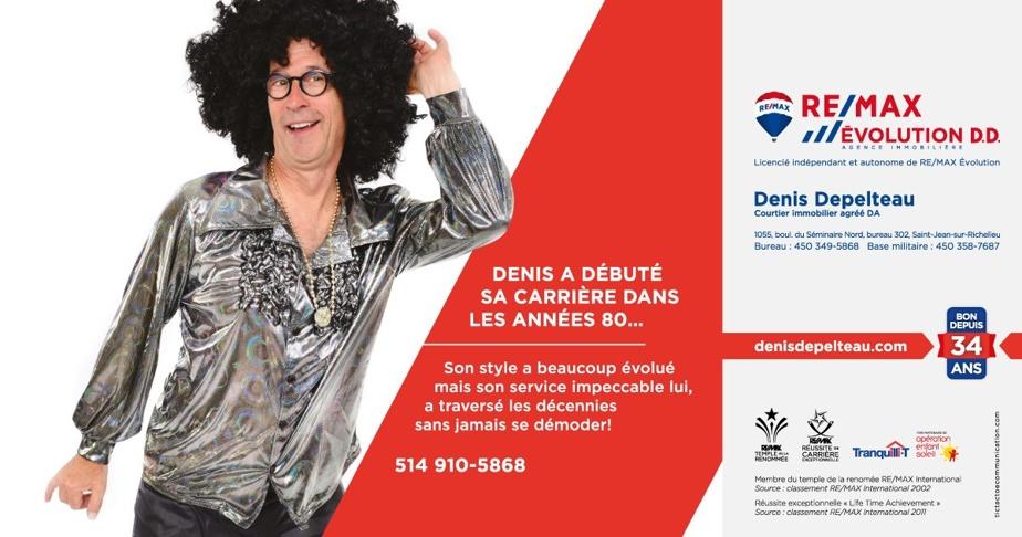 Depuis 21ans, Denis Depelteau et l'agence Tic Tac Toe renouvellent les concepts drôles de ce courtier, où l'autodérision est à l'honneur.