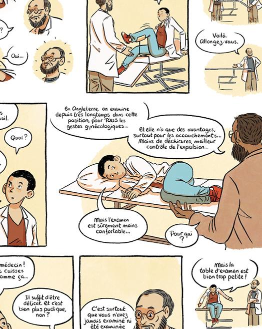 Extrait de la bande dessinée Le Chœur des femmes