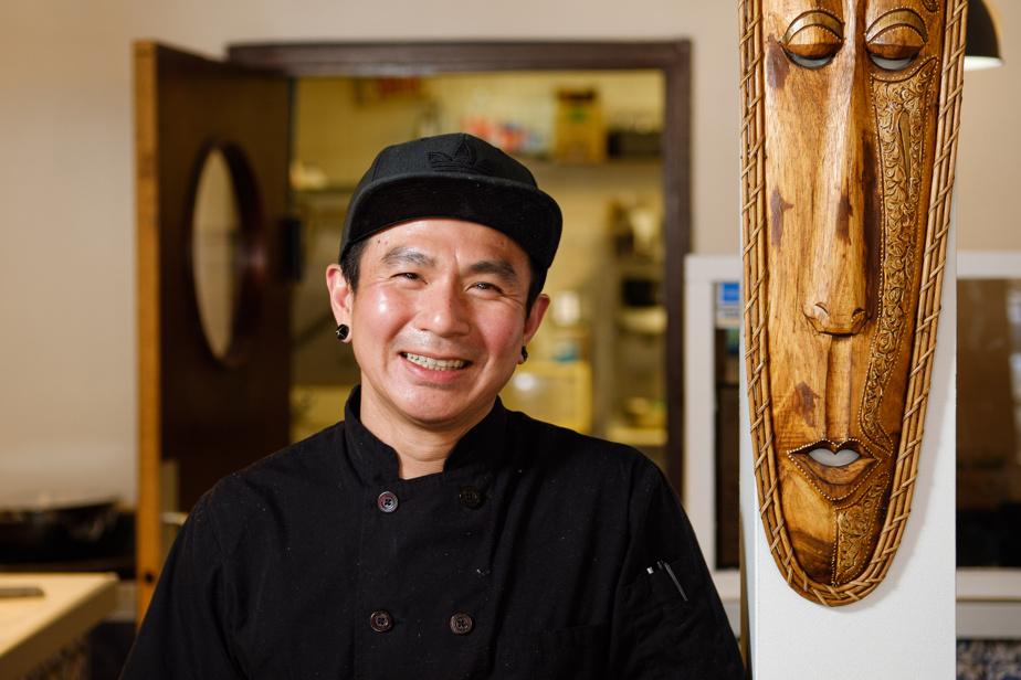 Sambos Herman adalah koki restoran lokal.