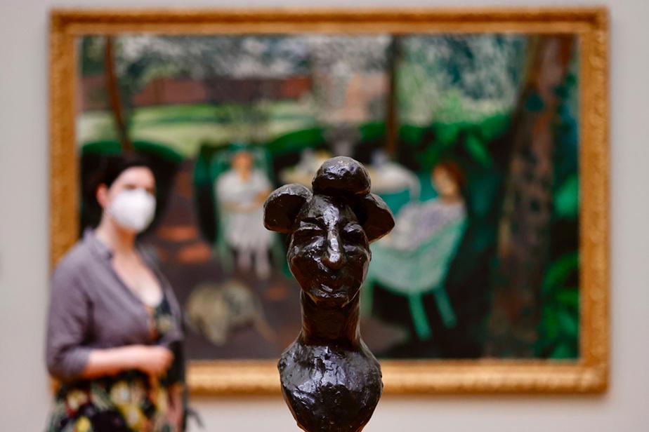 Sculpture au Musée d'art du comté de Los Angeles