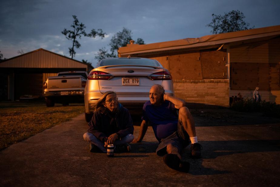 La Louisiane touchée ce vendredi — Ouragan Delta