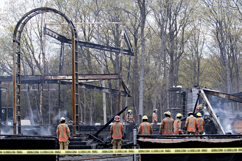 Environ 80pompiers ont été appelés en assistance.