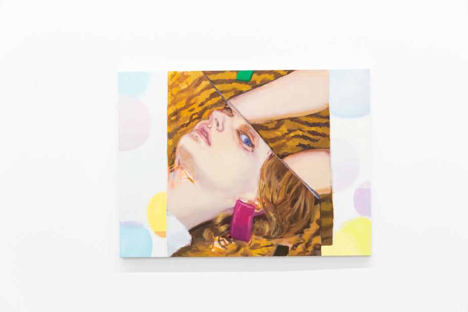 Rabbit, 2020, huile sur toile, 129,5 x 175,5cm