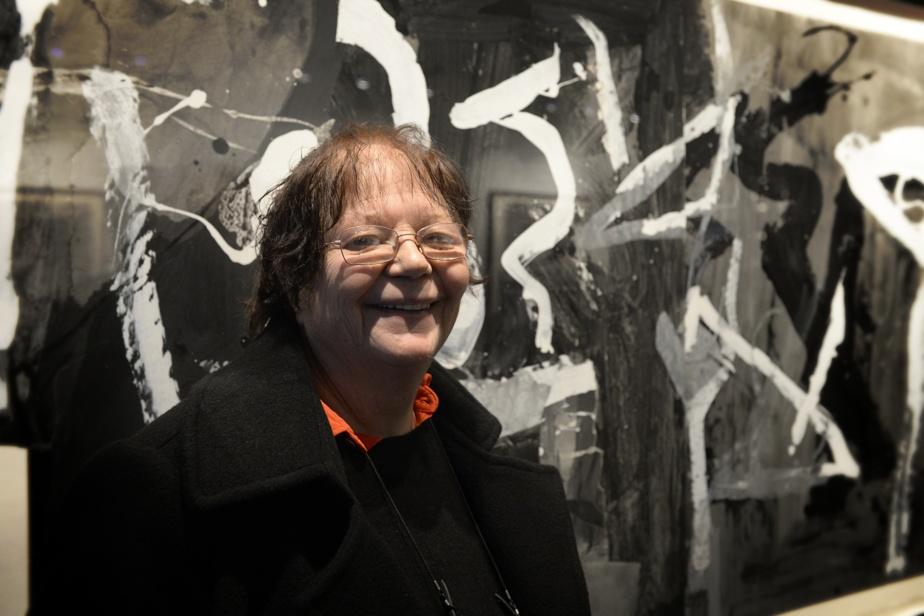 Francine Simonin (9octobre, 84ans) Peintre québécoise d'origine suisse. Aussi graveuse et dessinatrice, elle était une adepte de l'art expressionniste.