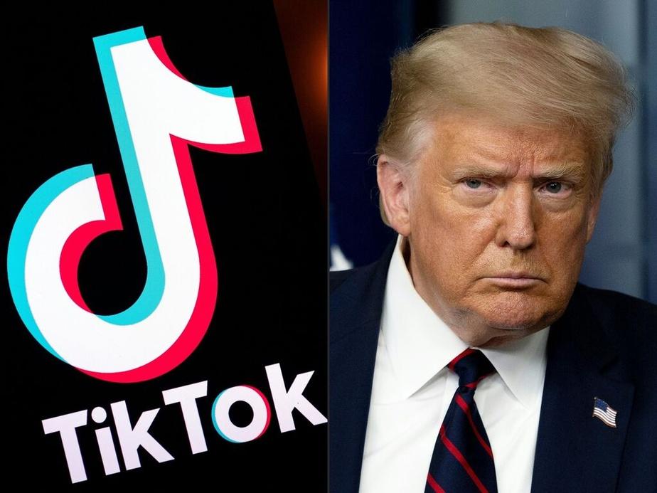 Donald Trump pèse de tout son poids en faveur de microsoft — TikTok