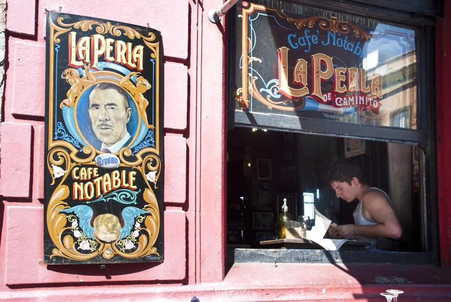 Un café dans le quartier La Boca, à BuenosAires