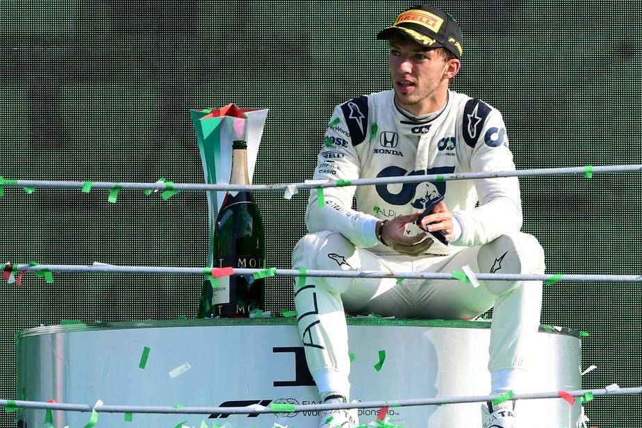 Formule 1 : Pierre Gasly va rester chez Alpha Tauri en 2021