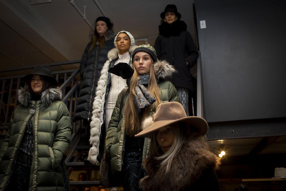 Marigold et Canadian Hat x Harricana se sont réunies pour présenter un défilé de leurs nouvelles collections dans le cadre de la Semaine Mode de Montréal.