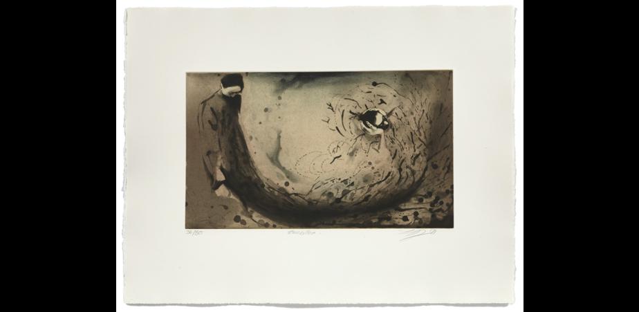 Tourbillon, 1991, eau-forte, 50 cm x 65,5cm