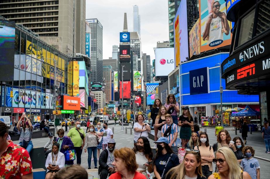 Times Square, le 11juin dernier
