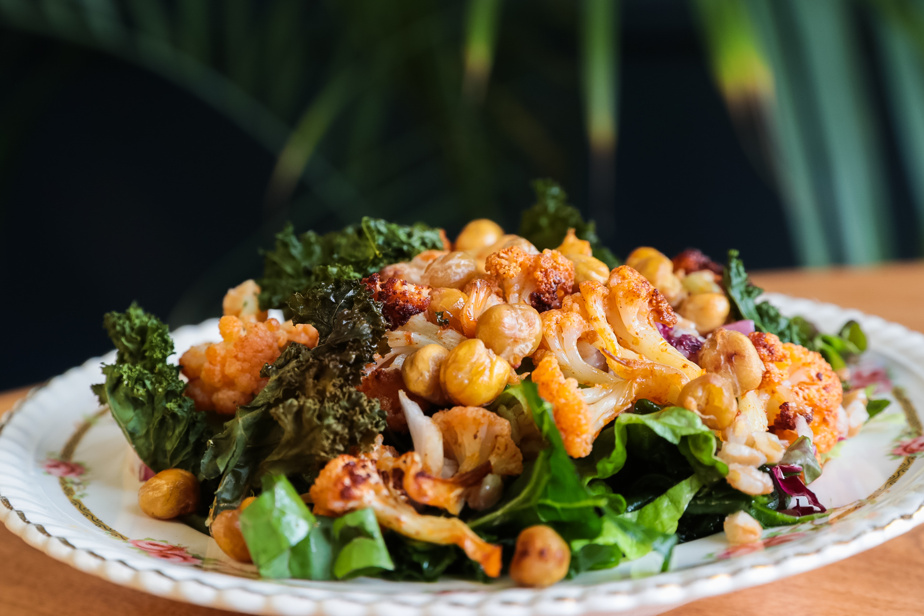 Zoom sur la salade de farro
