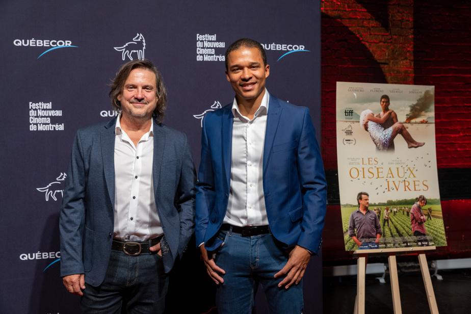 ClaudeLegault et KarlWalcott sont deux des acteurs du film présenté pour la première fois en 2021 au Festival international du film de Toronto.