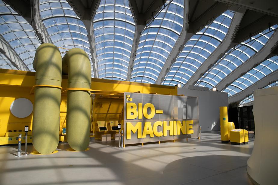 La nouvelle exposition La Bio-machine permet de découvrir l'envers du décor du Biodôme.