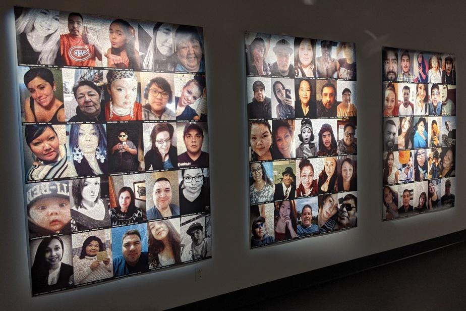 Le photographe MichelDepatie a invité les autochtones du Québec à lui fournir leurs égoportraits, qu'il a ensuite transformés en utilisant divers procédés photographiques.
