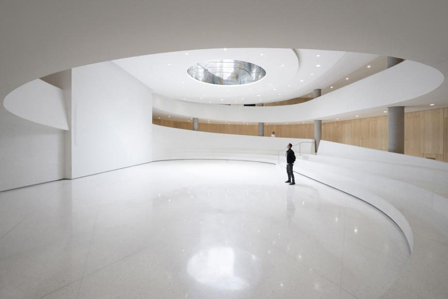 Pavillon d'accueil de l'Assemblée nationale du Québec Provencher_Roy et GLCRM Architectes en consortium
