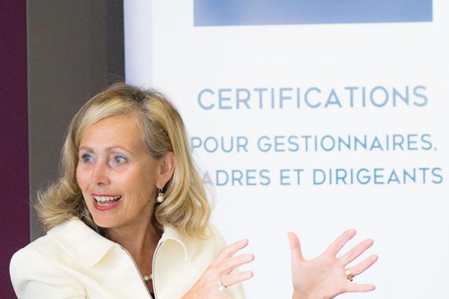 Monique Leroux est l'une des intervenantes de renom de l'Institut de leadership.
