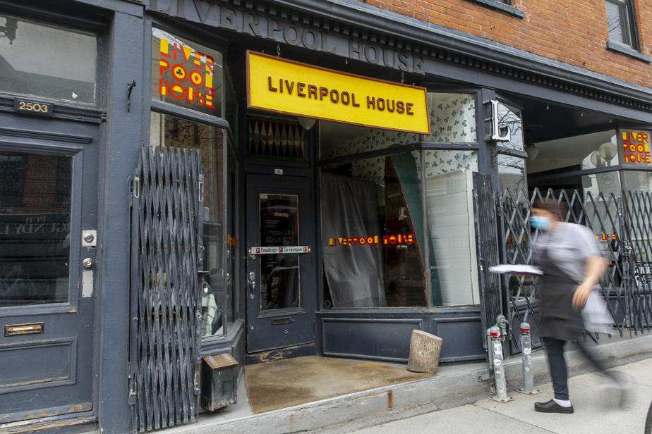 Le Liverpool House est situé rue Notre-Dame Ouest.