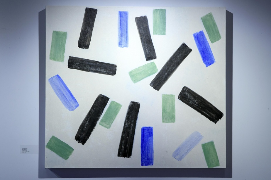 Sans titre, 2020, acrylique sur toile, 92cm x 102cm