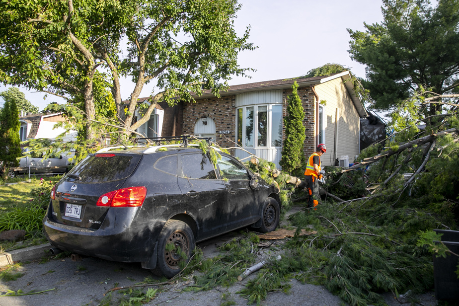 Un mort et des blessés après une tornade à Mascouche | La Presse