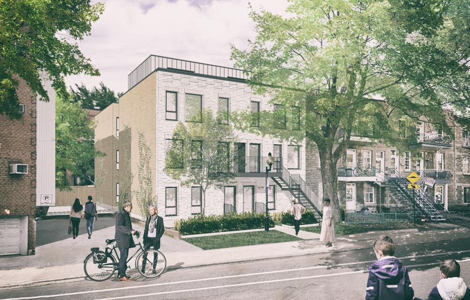 Cette nouvelle construction sera composée de six grands logements de trois à cinq chambres.