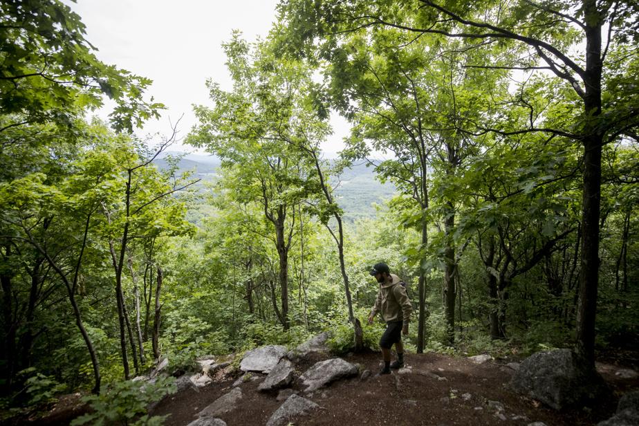 Le sentier est bien entretenu, pour une randonnée somme toute classique.