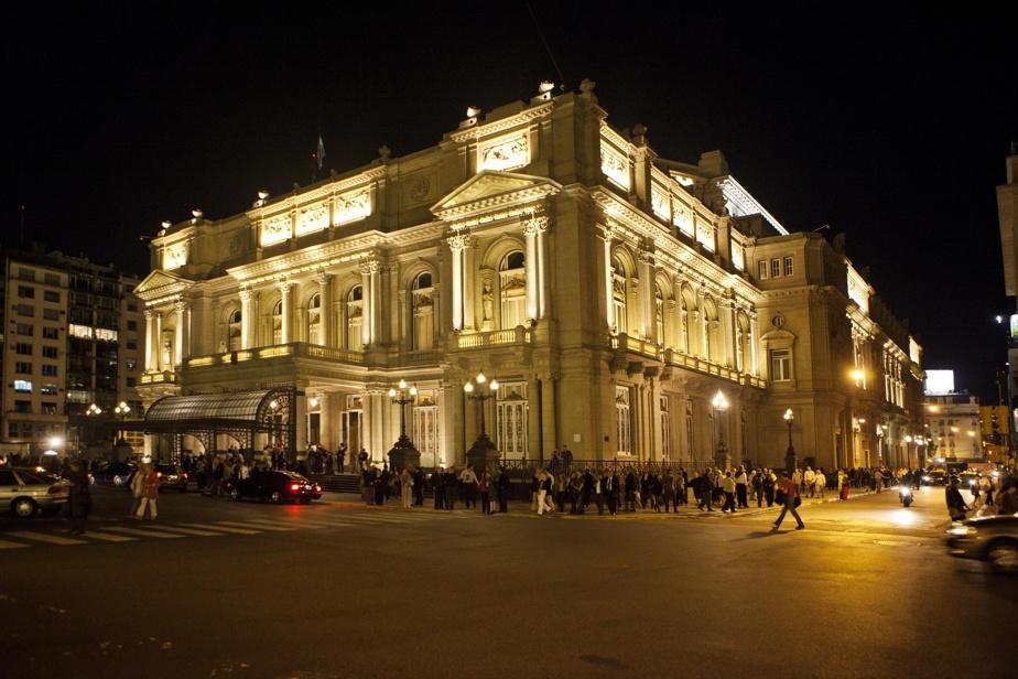 Le Teatro Colón, véritable institution musicale de la capitale de l'Argentine