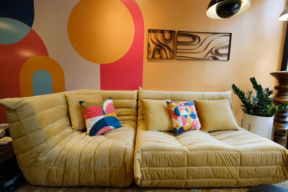 Le canapé sans point dur Togo, inspiré de la création de Michel Ducaroy pour LigneRoset.