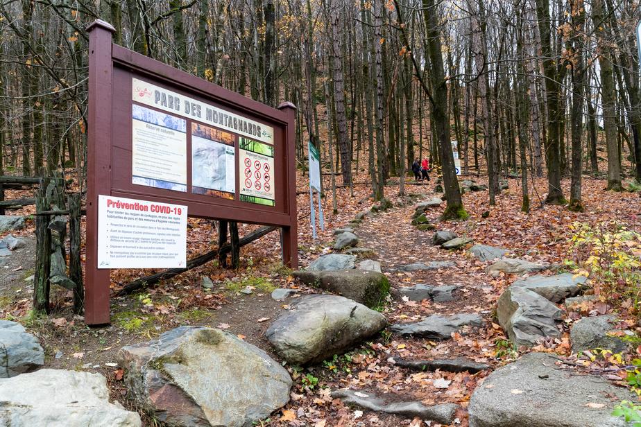 Les parcs et sentiers sont gratuits pour les randonneurs. C'est 152acres de terrains protégés qui sont accessibles.