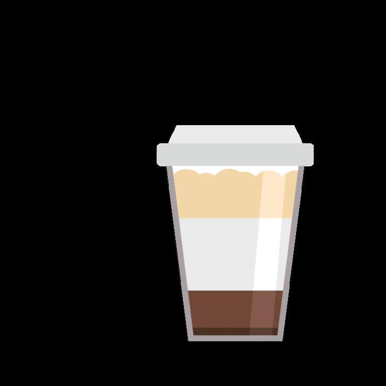 Café aulait (latte)