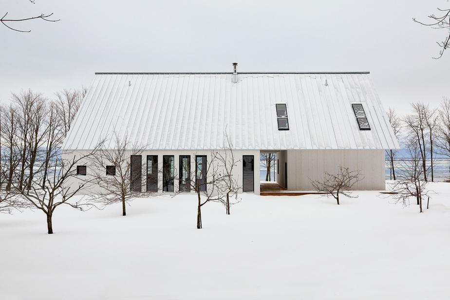La Maison de l'Île Blouin Orzes architectes