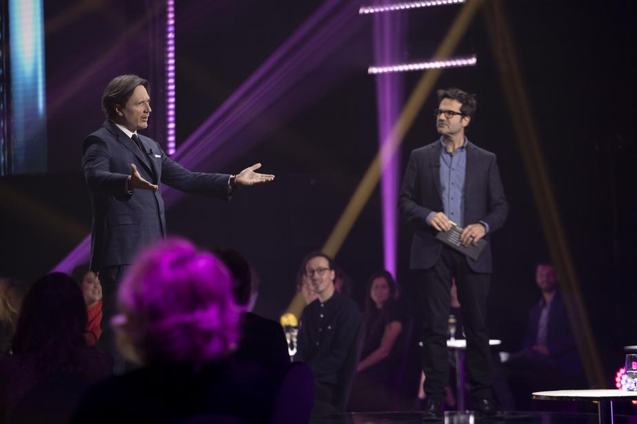 Simon-OlivierFecteau et Michel-OlivierGirard, le «gars des pubs d'A&W»