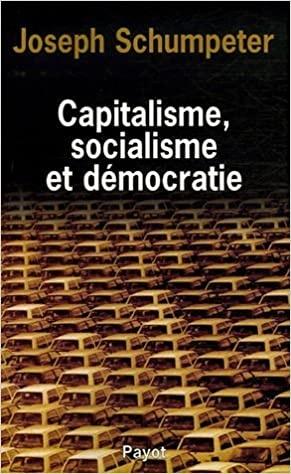 Capitalisme, socialisme et démocratie
