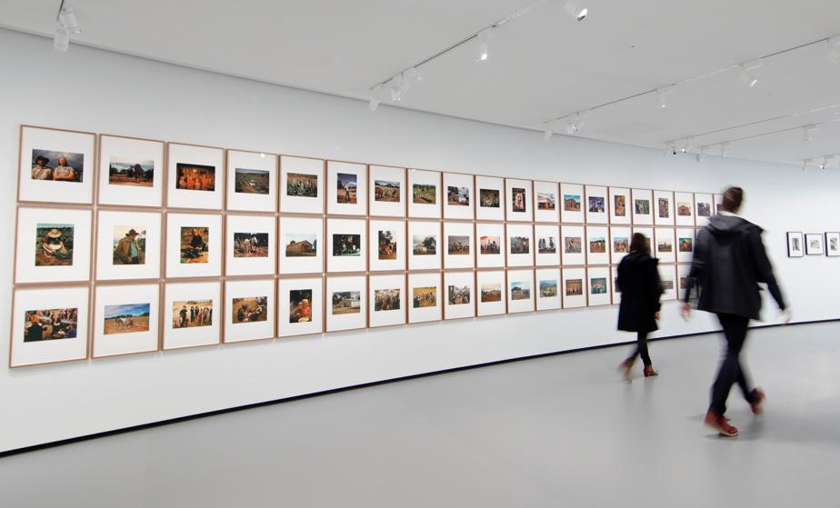 Une installation photographique de Sherrie Levine