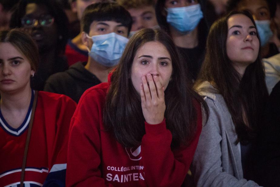 Consternation : les partisans du Canadien de Montréal ont assisté, impuissants, à la quatrième et dernière défaite de leurs favoris dans la série finale de la Coupe Stanley, mercredi soir.