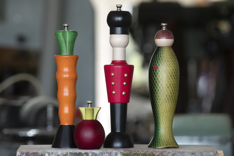 Le designer-ébéniste Sylvain Tremblay, fondateur de Moulins Tremblay, a conçu des centaines de modèles, d'une époustouflante créativité.