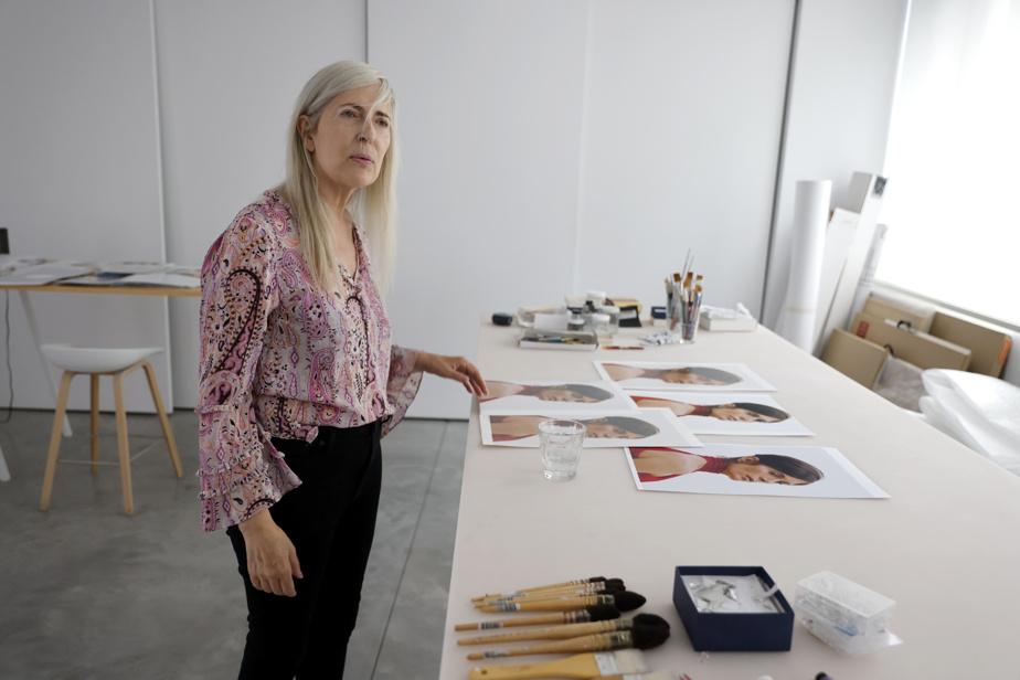 Geneviève Cadieux prend bien du plaisir à faire partager sa passion pour la photographie.