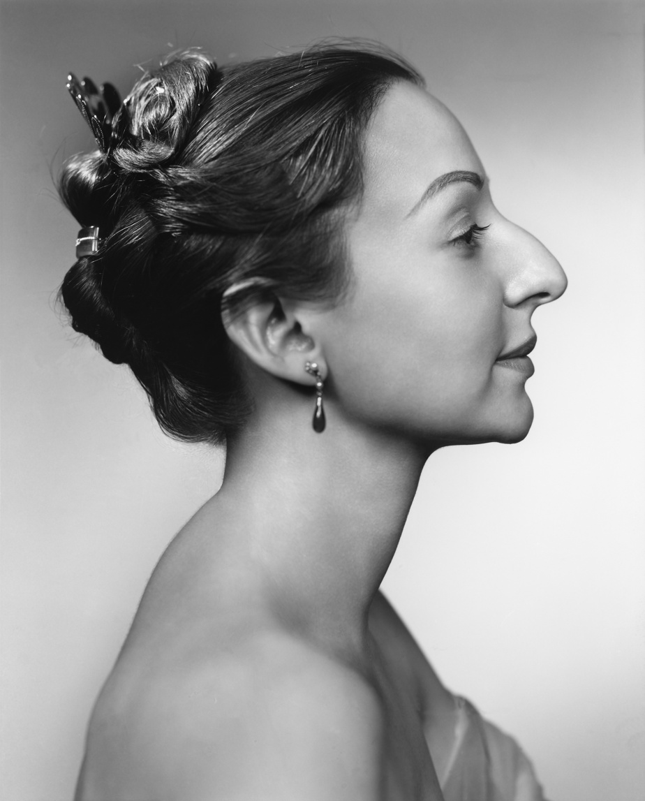 Estrellita Karsh, 1963, épreuve à la gélatine argentique, 60,3cm x 49cm. Don d'Estrellita Karsh à la mémoire de Yousuf Karsh.