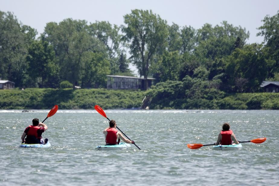 L'entreprise de location de kayaks reçoit «au moins deux fois plus» de personnes depuis le début de la pandémie.