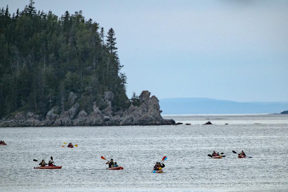 Le kayak fait partie d'une multitude d'activités que propose le parc.