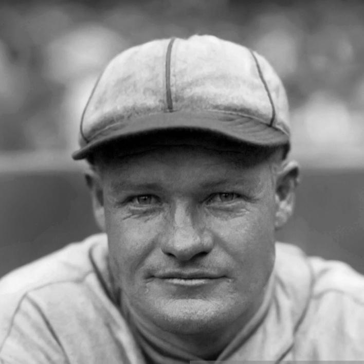 Red Holt avec les Athletics de Philadelphie, en 1925