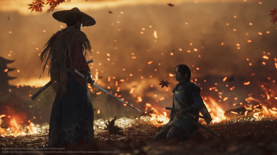 Le samouraï fantôme prend les armes sur PS4 — Ghost of Tsushima