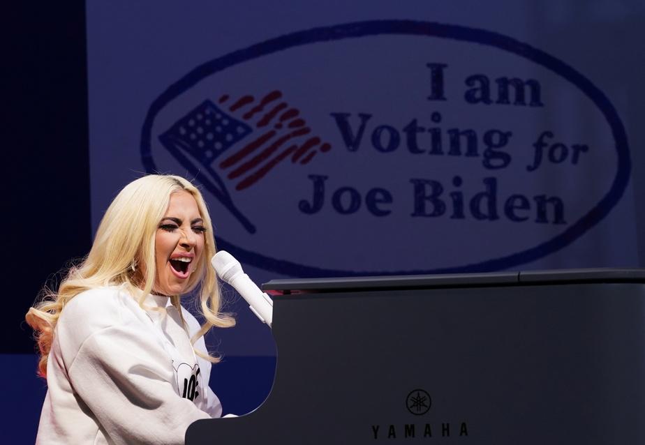Lady Gaga a chanté plusieurs de ses tubes