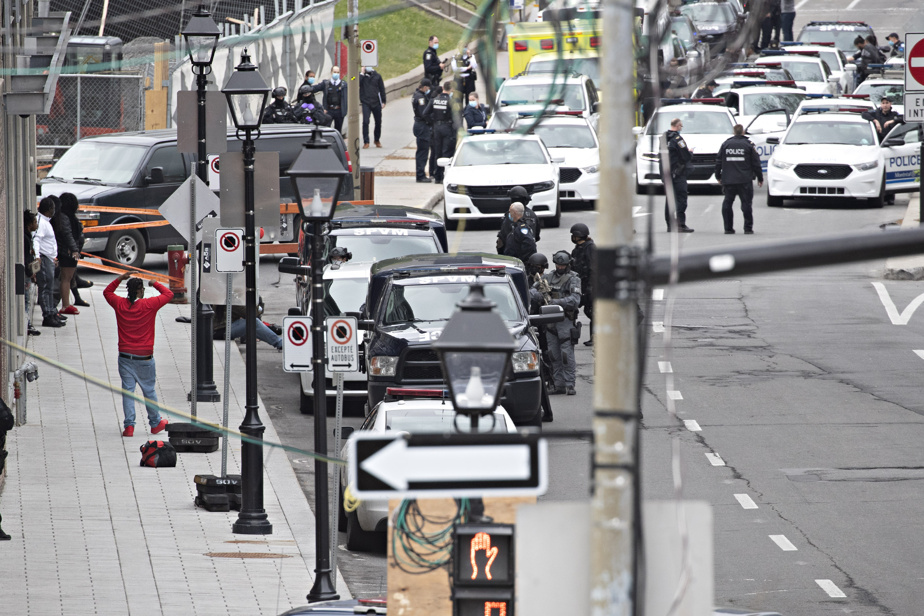 Le Vieux-Montréal est le théâtre d'une deuxième fusillade en un peu plus de 24 heures.